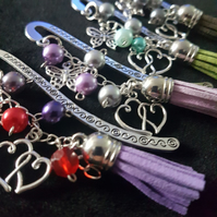 Handmade bead bookmarks