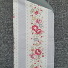 Glasses Case made with Cath Kidston Lace Stripe Grey