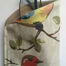Glasses Case made with Cath Kidston Birds material