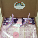 Parma Violet Wax Melt Gift Box with Sweet Treats