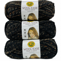 Pack of 3 lion brand yarn wool ease thick and quick! Limited Offer!