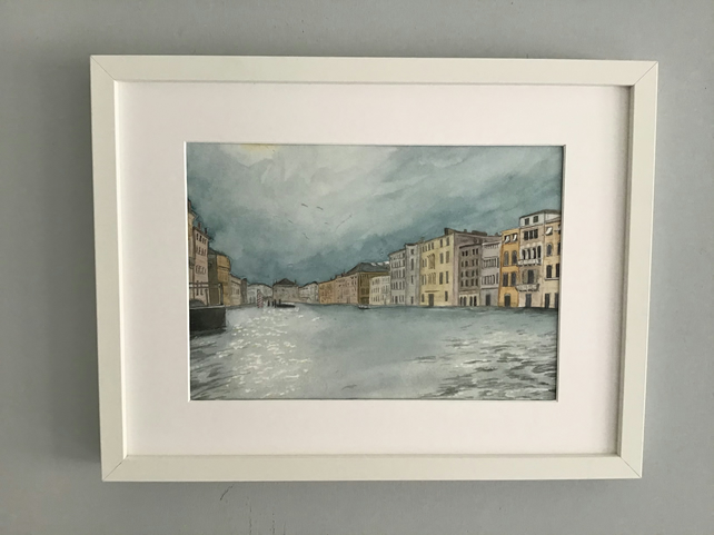 The Grand Canal, Venice - Original Watercolour Painting