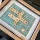 Scrabble Tile Box Frames