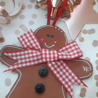 Hand Painted Gingerbread Man