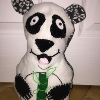 Paisley the Panda Doorstop