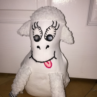 Lena the Lamb Doorstop