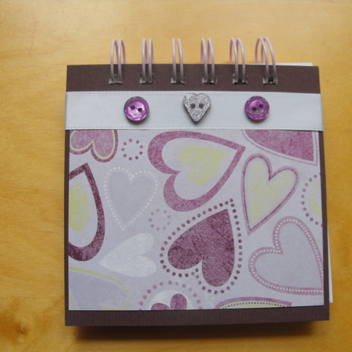 Pink Lilac and Lime Jotter