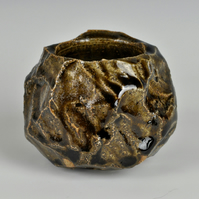 A carved spirit cup or small bowl