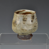 A Wood fired, stoneware cup