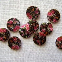 10 x Nadine Shell Buttons - 10mm