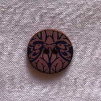 Sweet Bird Hand-Made Ceramic Buttons - 18mm