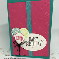 Bright Happy Birthday Card