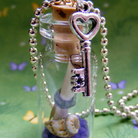 Message in a Bottle Pendant