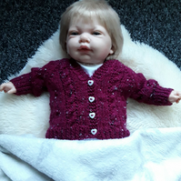 REDUCED Baby girl cardigan