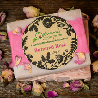 Buttered Rose Handmade, natural soap