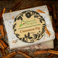 Handmade Cinnamon Fig Soap