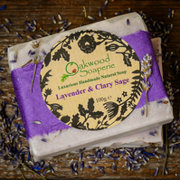 Handmade Lavender and Clary Sage Soap
