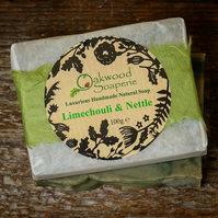 Limechouli (Lime and Patchouli) handmade soap