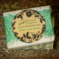 Mint and Seed handmade soap