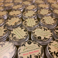 Peppermint, Honey & Beeswax natural Lip balm