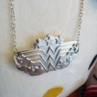 Wonder-Ful Woman - Wonder Woman, necklace, DC comics, comic books, cosplay