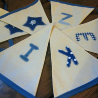 Personalised Fabric Bunting