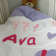 Personalised Quilt Small