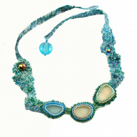 Rock Pools Necklace