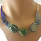 Tide Pools Beaded Necklace