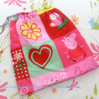 SALE- Large Peppa Pig Storage Bag