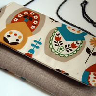 Esther fold-over clutch - Matroyshka