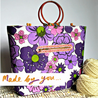 Knitting Bag Sewing Pattern