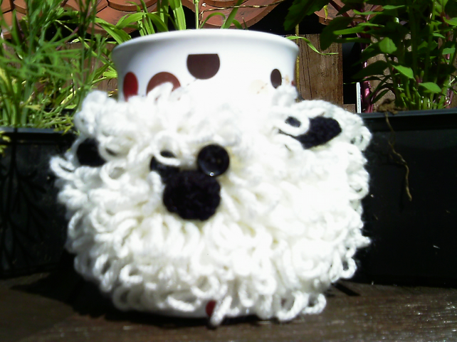 Sheep Mug Cosy