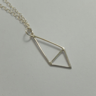 Sterling silver Triangles Necklace