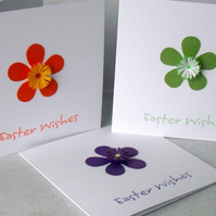 Quilled Easter cards, set of 3