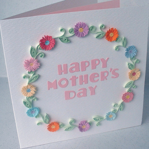 mother day paper craft ideas s day card paper quilling folksy 6932