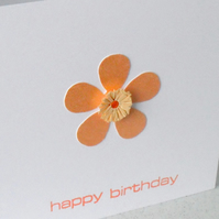 Paper quilling birthday cards - set of three