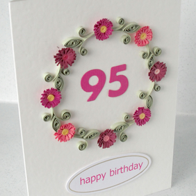 95th birthday card
