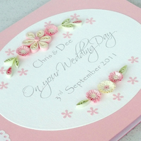 Wedding congratulations card