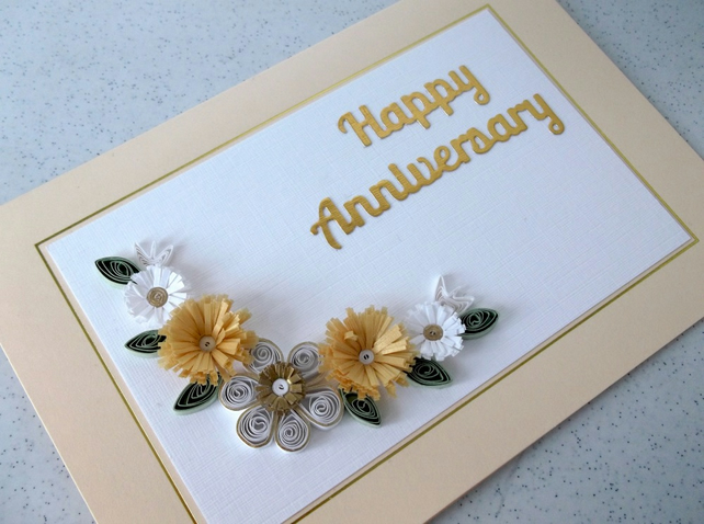 Wedding anniversary card