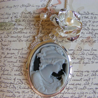 Victorian Dreamer Cameo Necklace