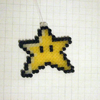 mario star christmas tree hanger