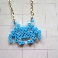 shy space invader necklace