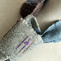 Hand Woven Tie Scarf