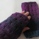 Hand Knitted Hand Warmers, Accessory, Fashion, Gloves, Warmers, Wool,Knit,