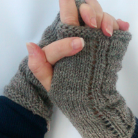 Hand Warmers, Accessories,  Cuffs Jacob Grey Wool