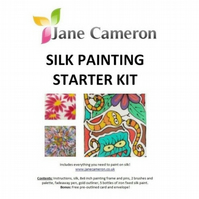 Silk Painting Starter Kit by Jane Cameron