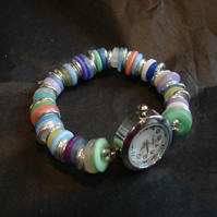 Funky Button Watch for Amy