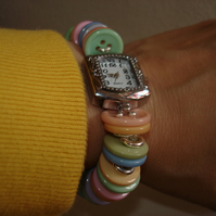 Pastel Button Watch *SALE*
