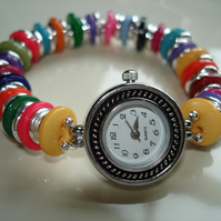 Bright Button Watch